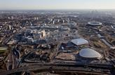 Olympic park aerial