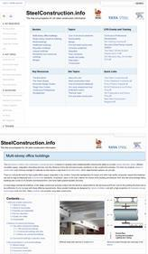 Steel construction info