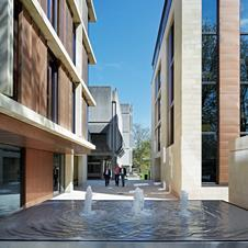 Bennetts Associates' two new buildings at St Antony's College in Oxford