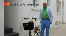 Richard Rogers Cycle Safety Video still