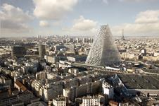 Herzog and de Meuron - Triangle tower Paris