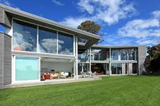 Accoya window frames were specified on this house in Bleakhouse Road, Auckland