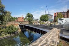 Camley Street Bridge by Moxon Architects