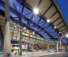 Southern Cross Station in Melbourne.