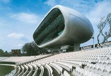Media centre at Lord's cricket ground, by Future Systems (1999).