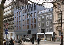 Hall McKnight King's College London proposal for the historic Strand buildings