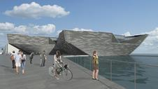 Kengo Kuma's revised V&A Dundee design