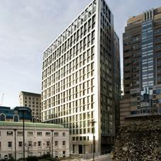 Parry's 5 Aldermanbury Square office building in the City of London.