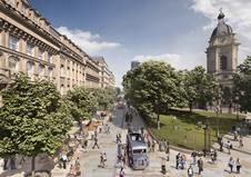 Broadway Malyan's Snow Hill public realm revamp