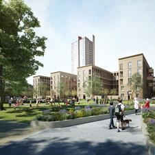Nightingale Estate regeneration by KCA, Henley Halebrown Rorrison, Stephen Taylor and Townshend Landscape Architects