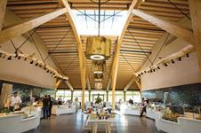A bespoke Ridgeglaze rooflight was specified at AFL Architects' Gloucester Services on the M5 in Gloucestershire