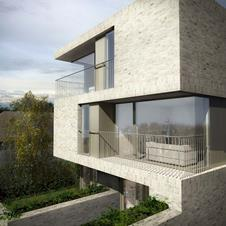 Sutherland Hussey Harris Architects - proposal for Natal Road in Brighton