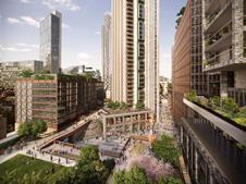 Buckley Gray Yeoman - Bishopsgate Goodsyard offices - site view