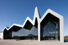 Zaha Hadid-designed Riverside Museum in Glasgow