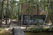 Feilden and Mawson's Czech lake cabin