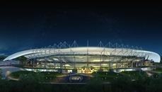 Rostov Stadium in Rostov-on-Don, Russia by Populous