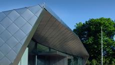 Peace Palace visitor centre by Wilford Schupp Architekten