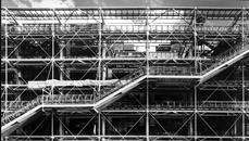 Richard Rogers and Renzo Piano designed the Pompidou Centre, Paris