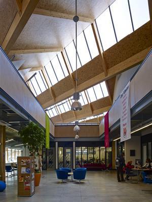 Black Architecture Unveils Lewisham Hub News Building
