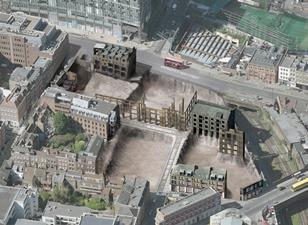 This is what opponents say would be left of the existing fabric of Norton Folgate under British Land proposal