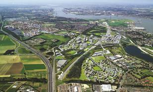 The Ebbsfleet Valley - site of the first 21st-century garden city