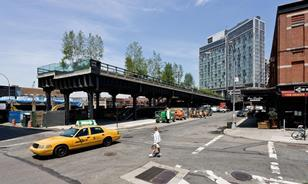 The High Line in Manhattan