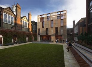 Design Engine's proposed new building at St Peter's College Oxford