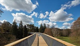 At 284m the Westonbirt Treetop Walkway is the longest in the UK
