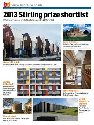 Stirling Prize 2013 building review collection
