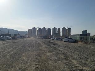 Some of the many new tower blocks in Ulan Bator, Mongolia