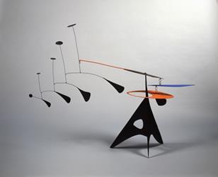 Alexander Calder, Blue Feather, c. 1948