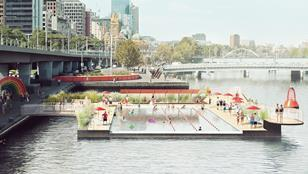 Studio Octopi - Yarra River swimming pool