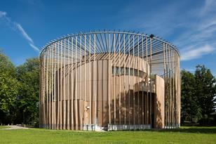 Elizabethan Theatre, Chateau d'Hardelot by Studio Andrew Todd