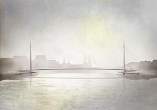 Nine Elms to Pimlico bridge contest - Bystrup with Robin Snell