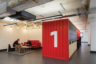 Google's Campus London offices by Jump Studios