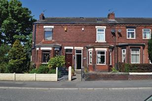 Terrace houses in Wigan