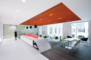 Scott Brownrigg's interior design for Thomson Reuters.