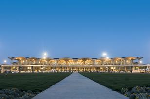 Foster & Partners' Queen Alia International Airport in Amman, Jordan
