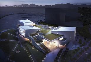 Maki and Associates - Shekou Design Museum in Shenzhen, China, with Victoria and Albert Museum Gallery