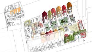 Wood Green proposal by Jan Kattein Architects and Meanwhile Space