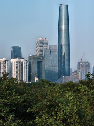 The Guangzhou International Finance Centre launched the practice's international career.