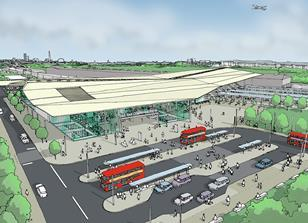 HS2's designs for Old Oak station
