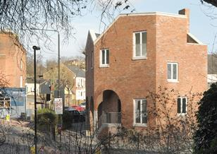 Stapleton Hall Road houses by Stephen Taylor Architects