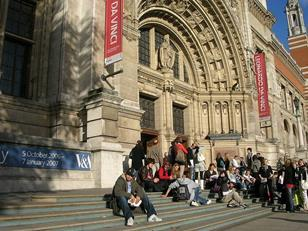 The Victorian and Albert Museum in London