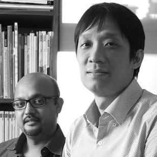 Kapil Gupta (left) and Chris Lee of Serie Architects