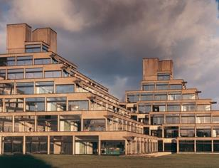 University of East Anglia by Denys Lasdun