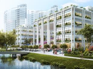 Serie and Multiply Architects - Singapore health and community project in Punggol