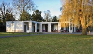 In the classical tradition: Chiswick House café by Caruso St John.