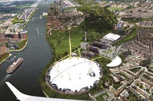 Royal Docks competition: Move the river