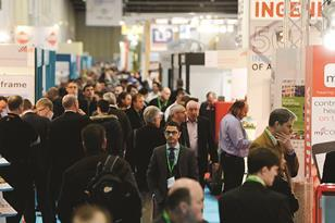 Ecobuild crowd